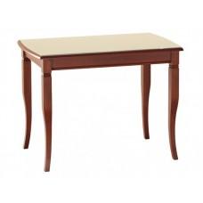 Глянцевый обеденный стол со стеклянной столешницей Бруно-100-С