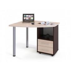 Письменный угловой стол для ноутбука Пристон