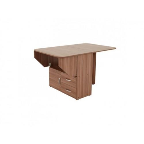 Компактный стол-книжка тумба с ящиками Тумбо