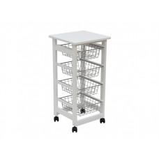 Сервировочный столик на колесиках Вентура-43