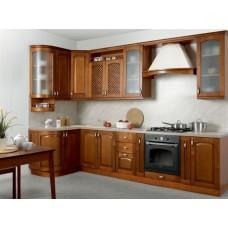 Комплект мебели для кухни Массив-Люкс 133 Х 250 см