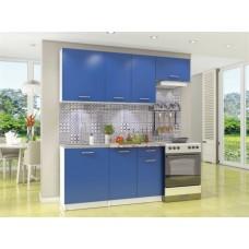 Кухонный гарнитур Бланка Синий 200 см