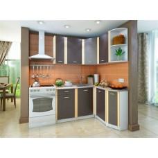 Кухонный гарнитур угловой Бланка 136,9 х 140 см Венге