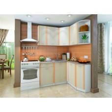 Кухонный гарнитур угловой Бланка 140 см Кремона