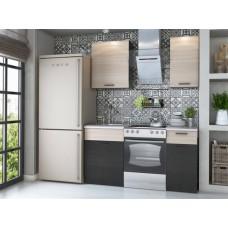 Прямой кухонный гарнитур Дуэт 100 см