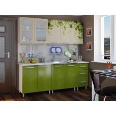 Прямой кухонный гарнитур Лоза Люкс 200 см