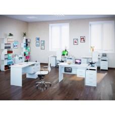 Комплект офисной мебели Сокол П К3 Белый
