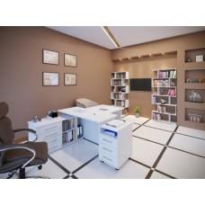 Комплект офисной мебели Сокол Р К1 Белый
