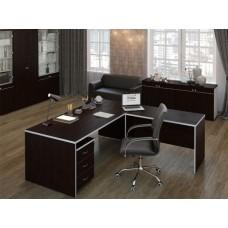 Комплект офисной мебели Свифт Темный К1